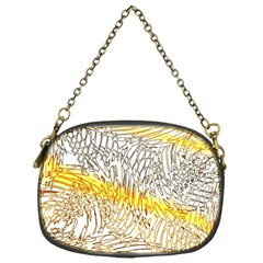 Abstract Composition Pattern Chain Purses (one Side)  by Simbadda