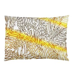 Abstract Composition Pattern Pillow Case by Simbadda
