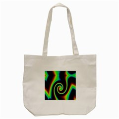 Background Colorful Vortex In Structure Tote Bag (cream) by Simbadda
