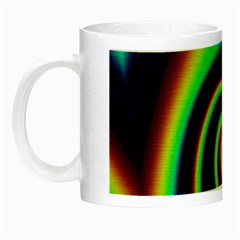 Background Colorful Vortex In Structure Night Luminous Mugs by Simbadda