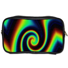 Background Colorful Vortex In Structure Toiletries Bags by Simbadda