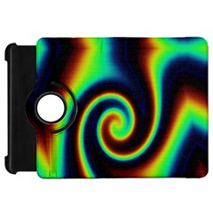 Background Colorful Vortex In Structure Kindle Fire Hd 7  by Simbadda
