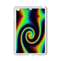 Background Colorful Vortex In Structure Ipad Mini 2 Enamel Coated Cases by Simbadda