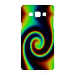 Background Colorful Vortex In Structure Samsung Galaxy A5 Hardshell Case  by Simbadda