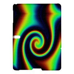 Background Colorful Vortex In Structure Samsung Galaxy Tab S (10 5 ) Hardshell Case  by Simbadda