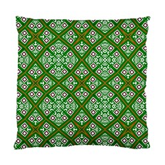 Digital Computer Graphic Seamless Geometric Ornament Standard Cushion Case (two Sides) by Simbadda
