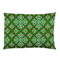 Digital Computer Graphic Seamless Geometric Ornament Pillow Case (two Sides) by Simbadda