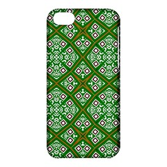 Digital Computer Graphic Seamless Geometric Ornament Apple Iphone 5c Hardshell Case by Simbadda