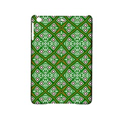 Digital Computer Graphic Seamless Geometric Ornament Ipad Mini 2 Hardshell Cases by Simbadda