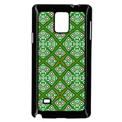 Digital Computer Graphic Seamless Geometric Ornament Samsung Galaxy Note 4 Case (black) by Simbadda