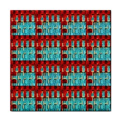 Architectural Abstract Pattern Tile Coasters by Simbadda