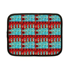 Architectural Abstract Pattern Netbook Case (small)  by Simbadda