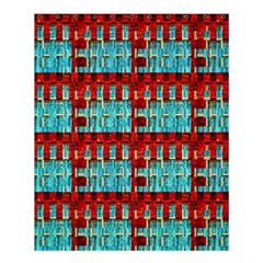 Architectural Abstract Pattern Shower Curtain 60  X 72  (medium)  by Simbadda