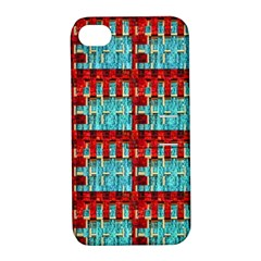 Architectural Abstract Pattern Apple Iphone 4/4s Hardshell Case With Stand by Simbadda
