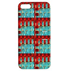 Architectural Abstract Pattern Apple Iphone 5 Hardshell Case With Stand by Simbadda