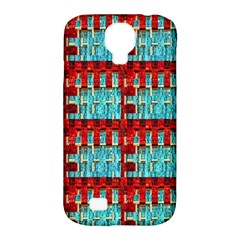 Architectural Abstract Pattern Samsung Galaxy S4 Classic Hardshell Case (pc+silicone) by Simbadda