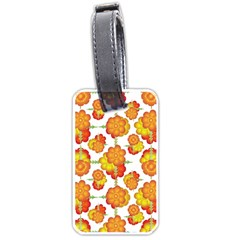 Colorful Stylized Floral Pattern Luggage Tags (one Side)  by dflcprints