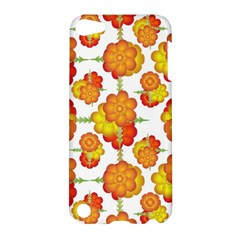 Colorful Stylized Floral Pattern Apple Ipod Touch 5 Hardshell Case by dflcprints