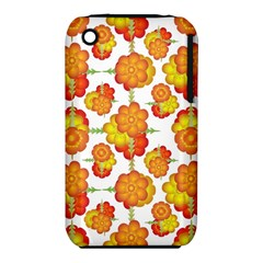 Colorful Stylized Floral Pattern Iphone 3s/3gs by dflcprints