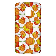 Colorful Stylized Floral Pattern Galaxy S5 Mini by dflcprints
