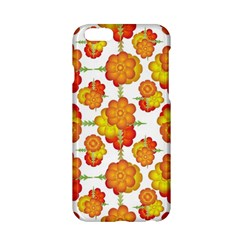 Colorful Stylized Floral Pattern Apple Iphone 6/6s Hardshell Case by dflcprints