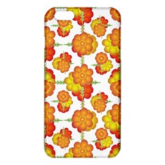Colorful Stylized Floral Pattern Iphone 6 Plus/6s Plus Tpu Case by dflcprints