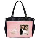 Anniversary Bag - Oversize Office Handbag (2 Sides)