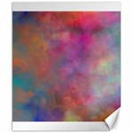 Rainbow Clouds Canvas 8  x 10