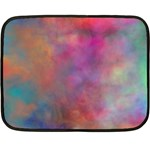 Rainbow Clouds Double Sided Fleece Blanket (Mini)
