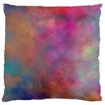 Rainbow Clouds Large Cushion Case (Two Sides)