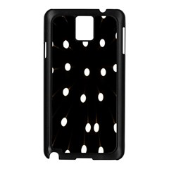 Lamps Abstract Lamps Hanging From The Ceiling Samsung Galaxy Note 3 N9005 Case (black) by Simbadda