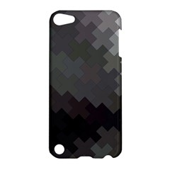 Abstract Pattern Moving Transverse Apple Ipod Touch 5 Hardshell Case by Simbadda