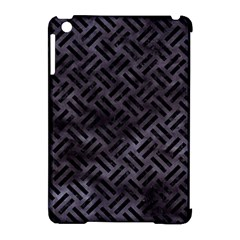 Woven2 Black Marble & Black Watercolor (r) Apple Ipad Mini Hardshell Case (compatible With Smart Cover) by trendistuff