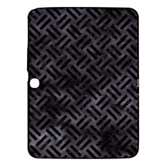 Woven2 Black Marble & Black Watercolor (r) Samsung Galaxy Tab 3 (10 1 ) P5200 Hardshell Case  by trendistuff