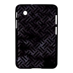 Woven2 Black Marble & Black Watercolor (r) Samsung Galaxy Tab 2 (7 ) P3100 Hardshell Case  by trendistuff