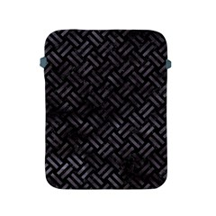 Woven2 Black Marble & Black Watercolor Apple Ipad 2/3/4 Protective Soft Case by trendistuff