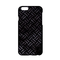 Woven2 Black Marble & Black Watercolor Apple Iphone 6/6s Hardshell Case by trendistuff