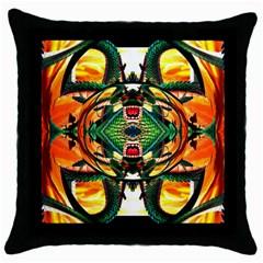 Shenron 2 3d Effect Throw Pillow Case (black) by 3Dbjvprojats
