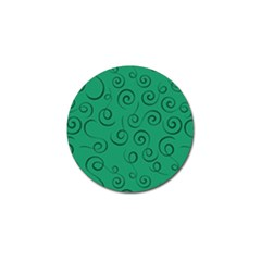Pattern Golf Ball Marker by Valentinaart