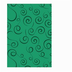 Pattern Large Garden Flag (two Sides) by Valentinaart