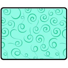 Pattern Fleece Blanket (medium)  by Valentinaart
