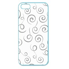 Pattern Apple Seamless Iphone 5 Case (color) by Valentinaart
