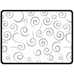 Pattern Double Sided Fleece Blanket (large)  by Valentinaart