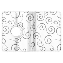 Pattern Kindle Fire Hdx Flip 360 Case by Valentinaart