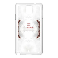 The Evil Within Demon 3d Effect Samsung Galaxy Note 3 N9005 Case (white) by 3Dbjvprojats