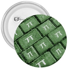 Pi Grunge Style Pattern 3  Buttons by dflcprints