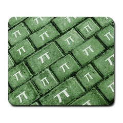 Pi Grunge Style Pattern Large Mousepads by dflcprints
