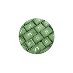 Pi Grunge Style Pattern Golf Ball Marker (10 Pack) by dflcprints