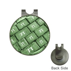 Pi Grunge Style Pattern Hat Clips With Golf Markers by dflcprints