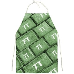 Pi Grunge Style Pattern Full Print Aprons by dflcprints